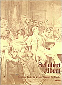 Schubert Album Volume 1 SCHUBERT Partition Piano - laflutedepan