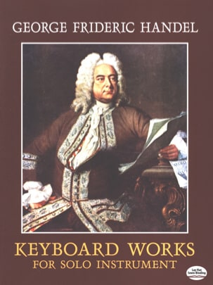 HAENDEL - Works for keyboard - Sheet Music - di-arezzo.com