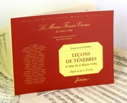 François Couperin - Lessons Of Darkness A 1 And 2 Voices. Exhausted - Sheet Music - di-arezzo.co.uk