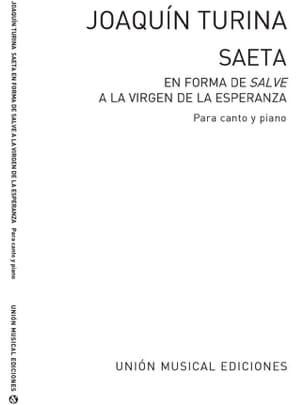 Saeta En Forma de Salve. Archive - TURINA - laflutedepan.com