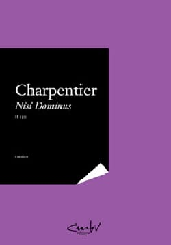 Marc-Antoine Charpentier - Nisi Dominus H 150. Conducteur - Partition - di-arezzo.fr