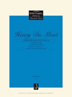 Grands Motets Vol 4 - Henry Dumont - Partition - laflutedepan.com