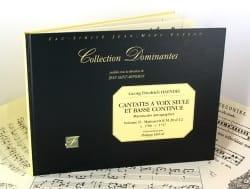 HAENDEL - Cantatas con solo voz y Continuo Volumen 2 - Partition - di-arezzo.es