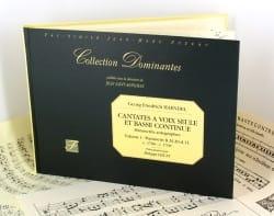Georg-Friedrich Haendel - Cantates A Voix Seule et Continuo Volume 1 - Partition - di-arezzo.fr