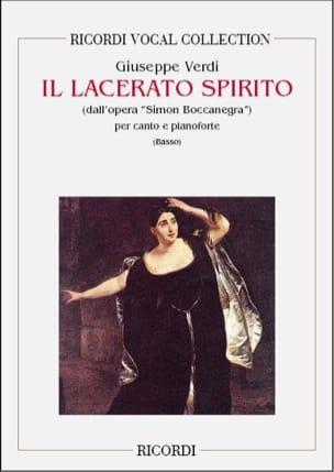 VERDI - Il Lacerato Spirito - Partition - di-arezzo.fr