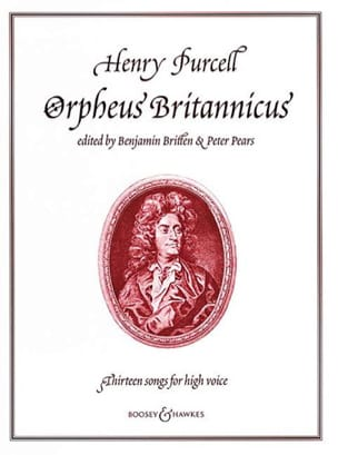 Henry Purcell - Orpheus Britannicus. 13 Songs - Partition - di-arezzo.fr