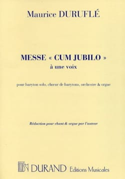 Maurice Duruflé - Mass Cum Jubilo Opus 11 - Sheet Music - di-arezzo.co.uk