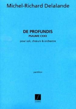 De Profundis - Michel-Richard de Lalande - laflutedepan.com