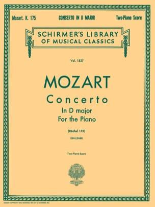 Concerto pour Piano N°5 En Ré Majeur K 175 - MOZART - laflutedepan.com