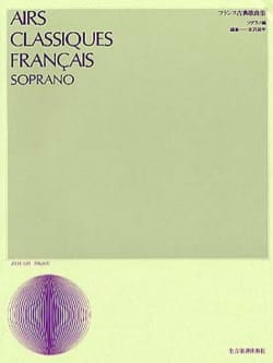 - French Classical Airs. Soprano - Sheet Music - di-arezzo.com