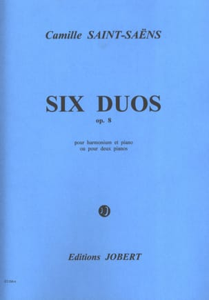 Camille Saint-Saëns - 6 Duos Opus 8 - Sheet Music - di-arezzo.co.uk