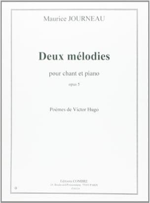 2 Mélodies Op. 5 - Maurice Journeau - Partition - laflutedepan.com