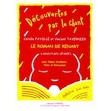 Coralie Fayolle - Renart Et Poncet - Partition - di-arezzo.fr