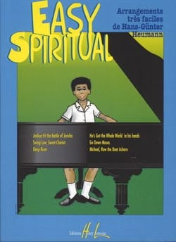 Easy Spirituals Partition Piano - laflutedepan