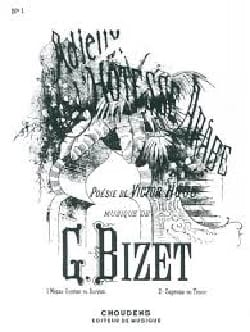 BIZET - Farewell to the Arab hostess. mezzo - Sheet Music - di-arezzo.com