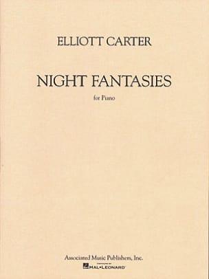 Night Fantasies - Elliott Carter - Partition - laflutedepan.com