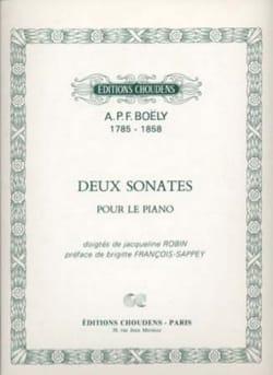 2 Sonates Opus 1 - Alexandre Pierre François Boëly - laflutedepan.com