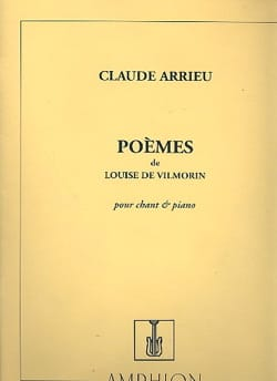 Claude Arrieu - Poems by Louise de Vilmorin - Sheet Music - di-arezzo.co.uk