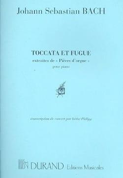 BACH - Toccata et Fugue En Ré Mineur Bwv 565. Piano - Partition - di-arezzo.fr