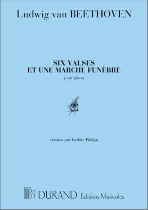 BEETHOVEN - 6 Waltzes y 1 Funeral March - Partitura - di-arezzo.es