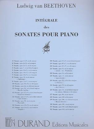 Sonate N°10 Op. 14-2 Ludwig van Beethoven Partition laflutedepan