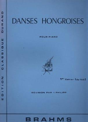 Johannes Brahms - Danses Hongroises Volume 1 Piano (1 A 5) - Partition - di-arezzo.fr