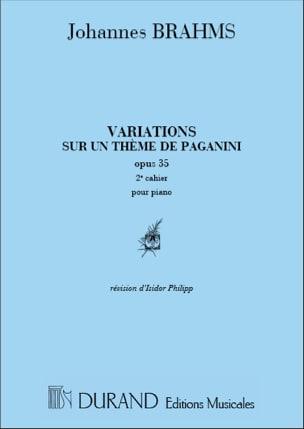 Variations Op. 35 Volume 2 sur un Thème de Paganini laflutedepan