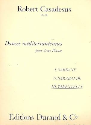 Tarentelle Op. 36. 2 Pianos - Robert Casadesus - laflutedepan.com