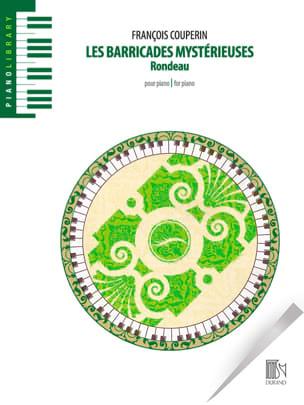 François Couperin - Les Barricades Mystérieuses - Partition - di-arezzo.fr
