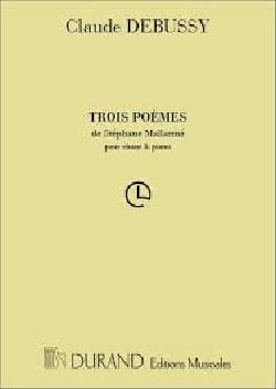 DEBUSSY - 3 Poems of Mallarmé - Sheet Music - di-arezzo.co.uk
