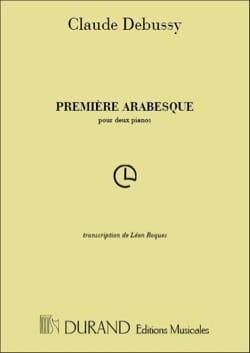 Claude Debussy - 1ère Arabesque 2 Pianos - Partition - di-arezzo.fr
