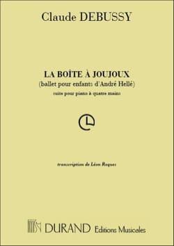 La Boîte A Joujoux. 4 Mains. - DEBUSSY - Partition - laflutedepan.com