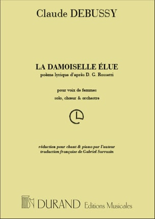 DEBUSSY - The Damoiselle Elue - Sheet Music - di-arezzo.com
