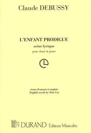 DEBUSSY - The Prodigal Son - Sheet Music - di-arezzo.com