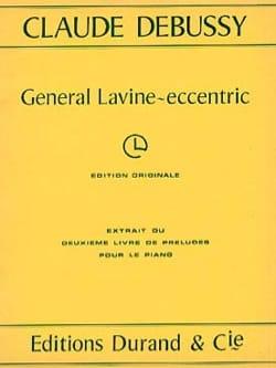 Claude Debussy - Général Lavine-Eccentric - Partition - di-arezzo.fr