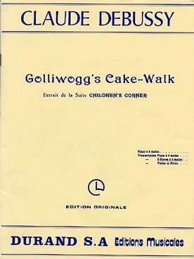 DEBUSSY - Golliwogg's Cake-Walk. 2 Pianos - Partition - di-arezzo.fr