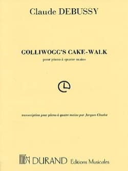 Golliwogg's Cakewalk. 4 Mains - Claude Debussy - laflutedepan.com