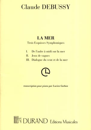 Claude Debussy - La Mer - Partition - di-arezzo.fr