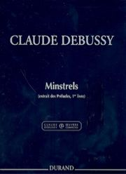 Claude Debussy - Minstrels - Partition - di-arezzo.fr