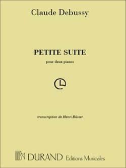 DEBUSSY - Small Suite. 2 Pianos - Sheet Music - di-arezzo.co.uk