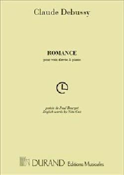 Claude Debussy - Romance - Partition - di-arezzo.fr