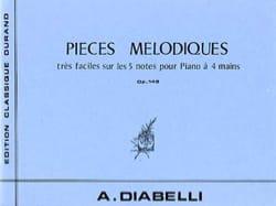Pièces Mélodiques Opus 149. 4 Mains - laflutedepan.com