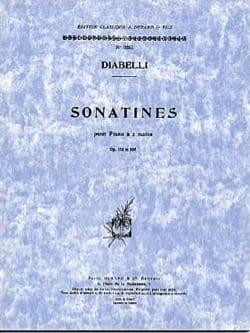 Anton Diabelli - Sonatines Opus 151 et 168 - Partition - di-arezzo.fr