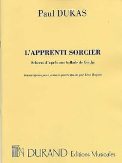 Paul Dukas - The Sorcerer's Apprentice. 4 Hands - Sheet Music - di-arezzo.com