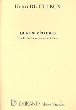 Henri Dutilleux - 無限の視点 - 楽譜 - di-arezzo.jp