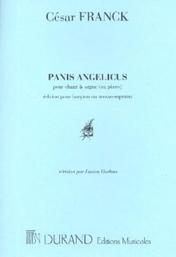 César Franck - Panis Angelicus - Average voice - Sheet Music - di-arezzo.co.uk