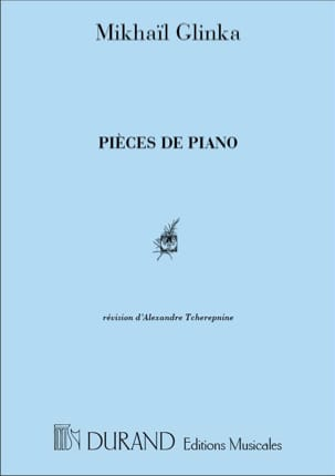 Mikhail Glinka - Piano Pieces - Sheet Music - di-arezzo.co.uk