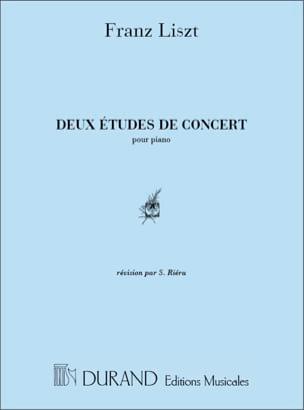 2 Etudes de Concert - Franz Liszt - Partition - laflutedepan.com