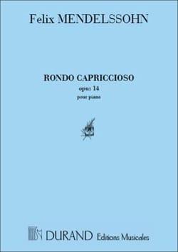 Rondo Capriccioso. Op. 14 Piano - Mendelssohn - laflutedepan.com