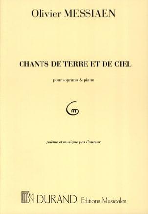 Olivier Messiaen - Canciones de la Tierra y el Cielo - Partitura - di-arezzo.es
